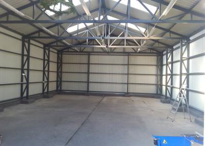 garaz wnetrze
