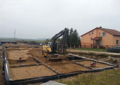 prace budowlane dom